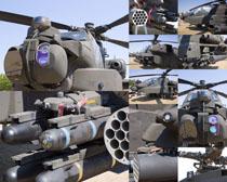 戰斗直升機展示攝影高清圖片