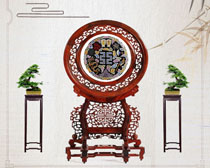 中国传统工艺PSD素材