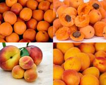 桃子水果拍摄高清图片