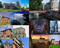 国外城市建筑拍摄高清图片