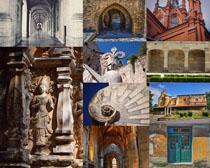 外国古典文化建筑摄影高清图片