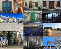 国外古典风情建筑拍摄高清图片