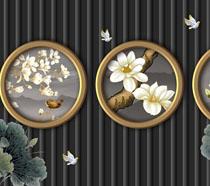 美��★花朵��g背景��PSD素材