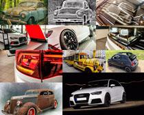 各种老式汽车摄影高清图片