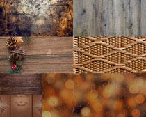 木板背景拍摄高清图片