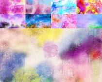 色彩油漆背景摄影高清图片