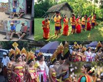 传统民族文化人物摄影高清图片
