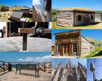 国外木屋建筑摄影高清图片