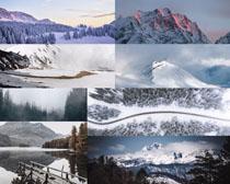 雪山風光攝影高清圖片