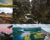 山河風光拍攝高清圖片
