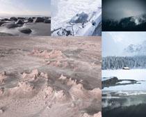 冰川天氣風景攝影高清圖片