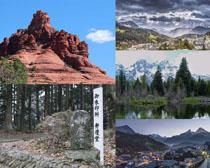 美麗旅游景點風光攝影高清圖片