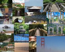 建筑桥风景拍摄高清图片