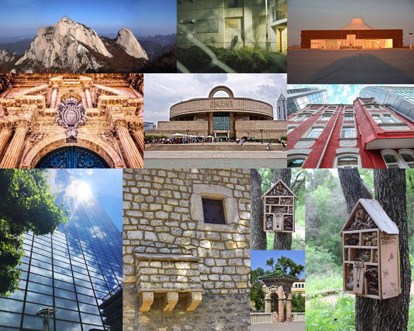 歐美建筑景觀拍攝高清圖片