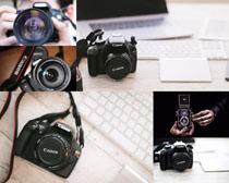 单反数码相机摄影高清图片