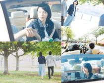 韓國情侶人物攝影高清圖片