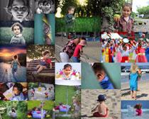 欧洲国家儿童小孩摄影高清图片