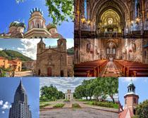 教堂建筑攝影高清圖片