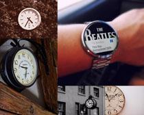 时钟手表拍摄高清图片
