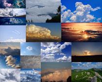 天空美麗云朵拍攝高清圖片