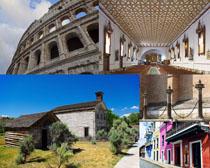 古典國外建筑拍攝高清圖片
