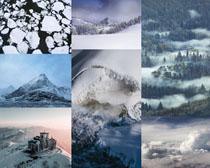 雪山自然风景拍摄高清图片