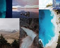 大海河流风光拍摄高清图片