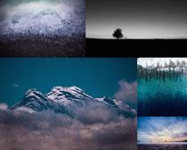 仙境山峰云雾摄影高清图片