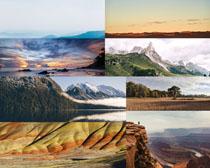 自然美麗風光寫真拍攝高清圖片