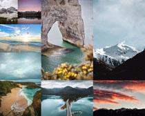 海岛山峰景点拍摄高清图片