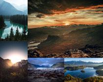 山水秀丽景色摄影高清图片