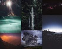 自然夜色美丽风景拍摄高清图片