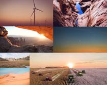 日出自然风光拍摄高清图片