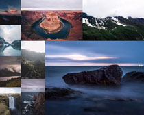 风景山峰拍摄高清图片