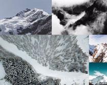 冰雪山川摄影高清图片