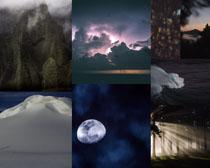 夜晚风景拍摄高清图片
