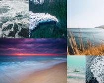 大海美丽风光拍摄高清图片