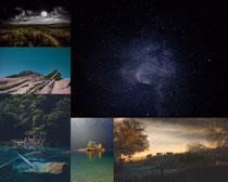 天空夜色景观拍摄高清图片