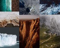 山峰大海風景拍攝高清圖片