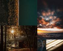 欧美森林天气风景摄影高清图片