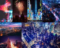 欧美夜色建筑城市摄影高清图片