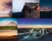自然天空景色攝影高清圖片