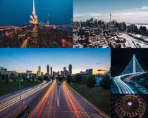 国外城市发展建筑摄影高清图片