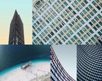高樓建筑大廈風光攝影高清圖片