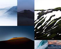 山峰美景風光攝影高清圖片