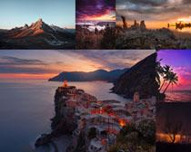 岛屿风光建筑景色摄影高清图片