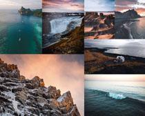 山川大海風景拍攝高清圖片