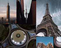 歐美建筑塔景觀攝影高清圖片