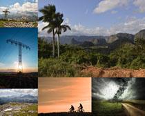 野外美麗風景拍攝高清圖片