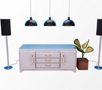 音箱柜子室内设计PSD素材